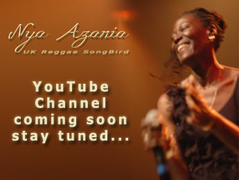 Nya Azania YouTube Channel coming soon - stay tuned...